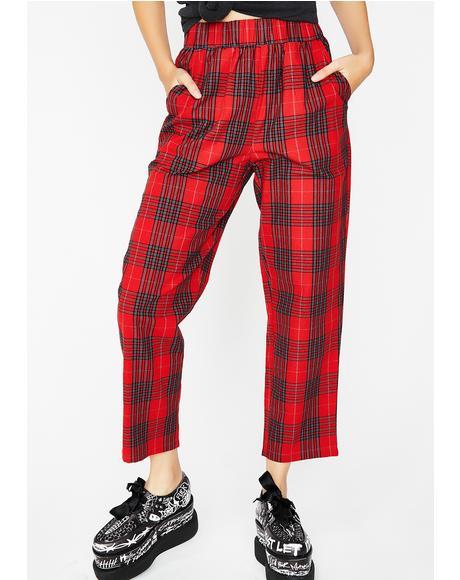 Trend Settin' Plaid Pants