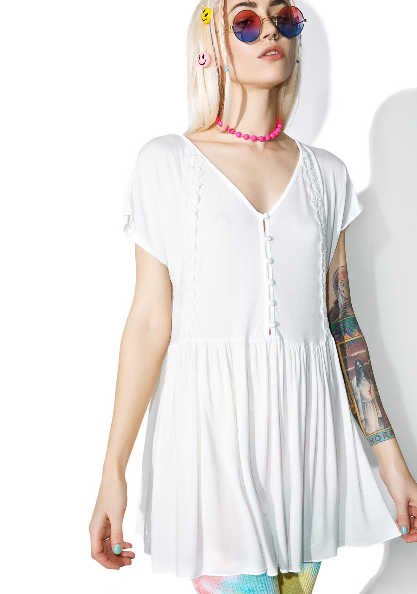 Posey Buttoned Dress
