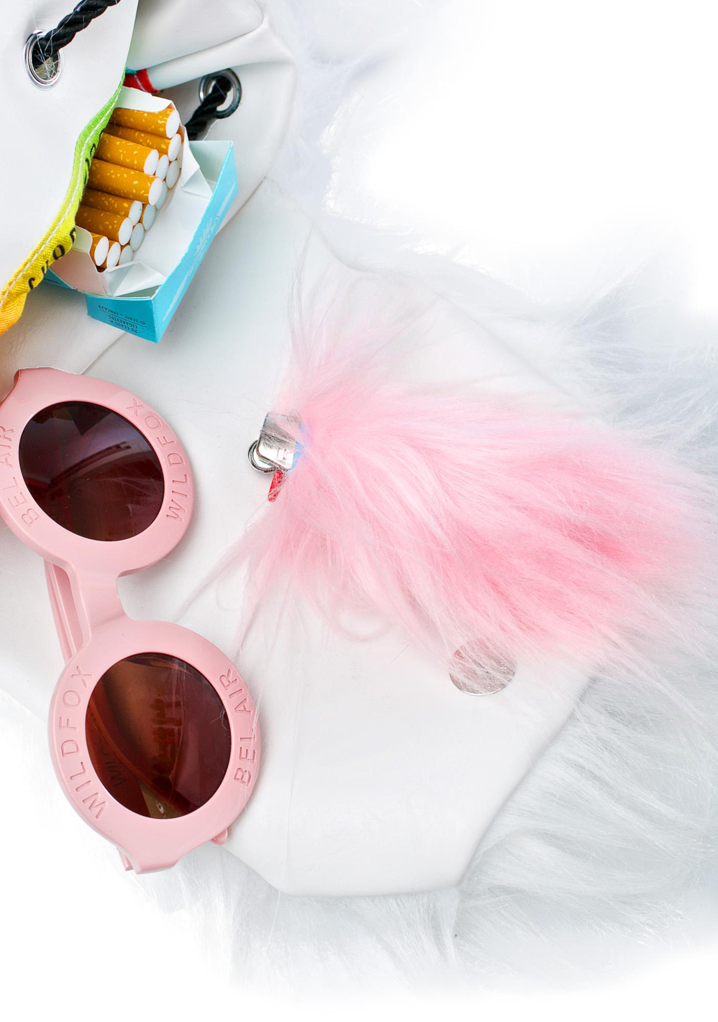 Kerenika Lite Up Kawaii Fur Lighter Holder