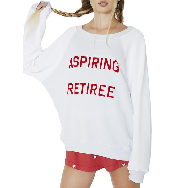 Wildfox Couture Aspiring Retiree Sommers Sweater