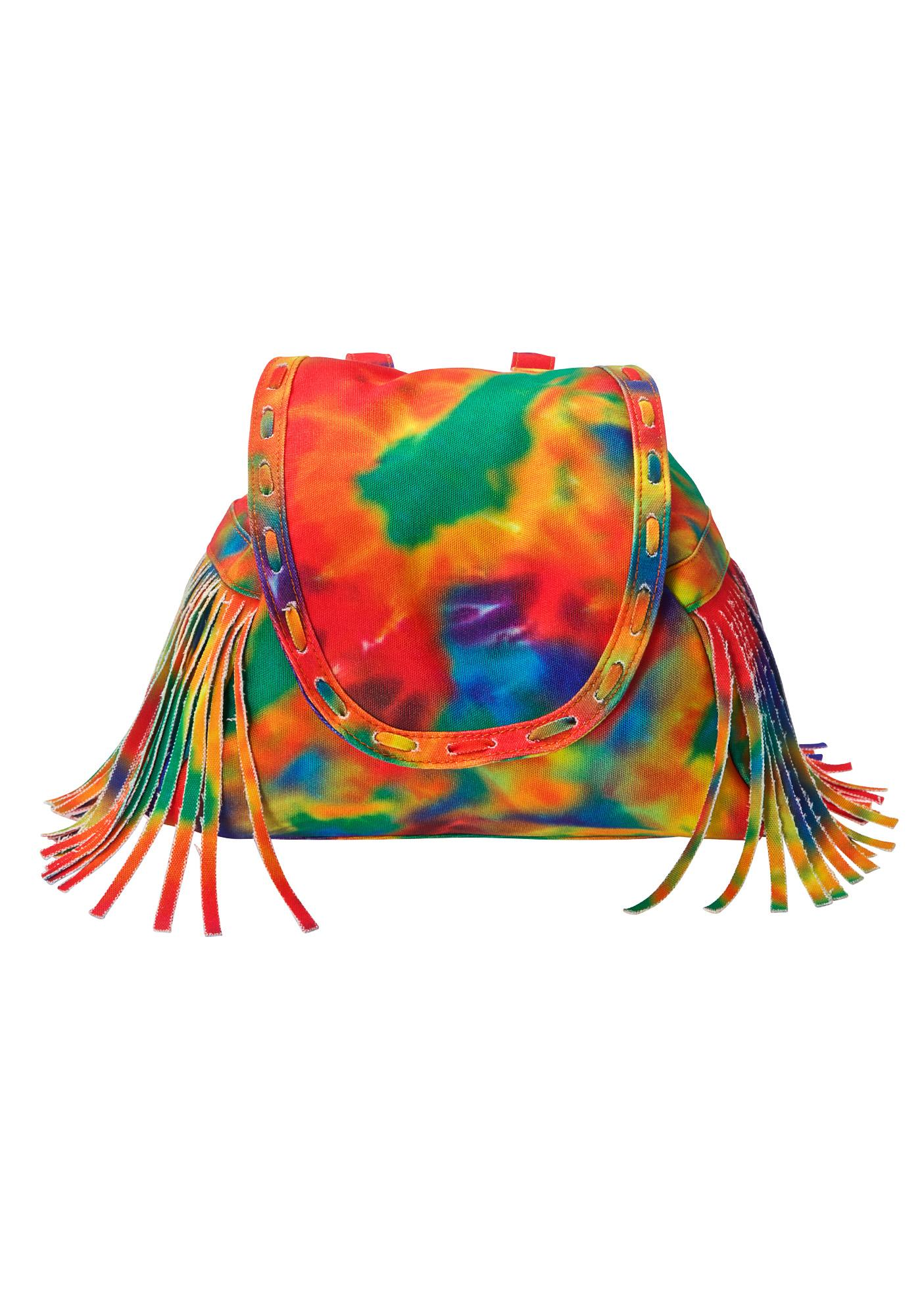 Current Mood On The Fringe Convertible Bag