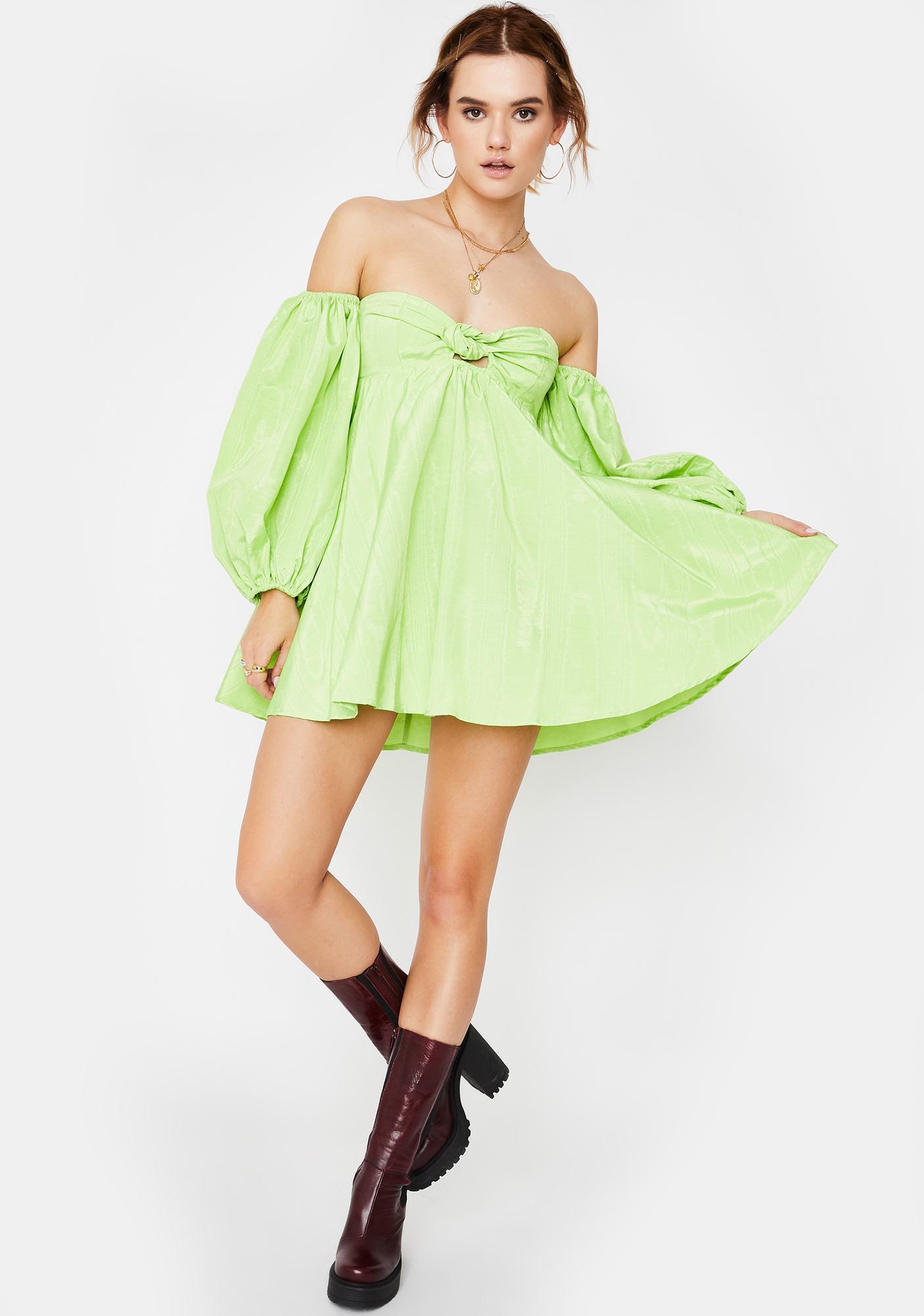 For Love & Lemons Saint Lucia Mini Dress