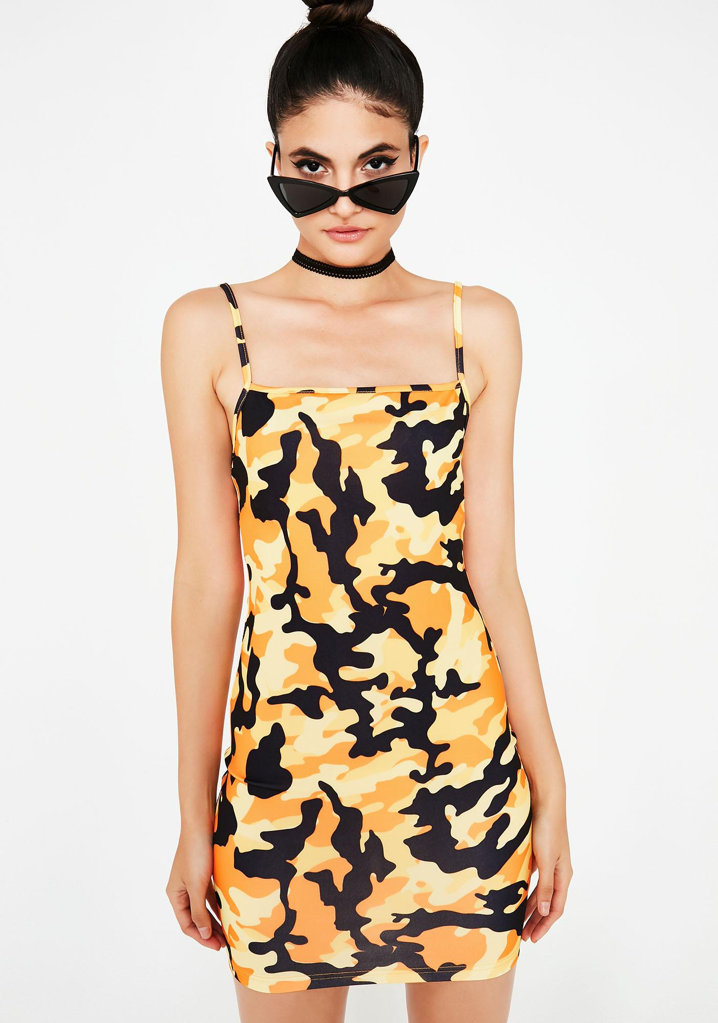 On A Mission Camo Dress