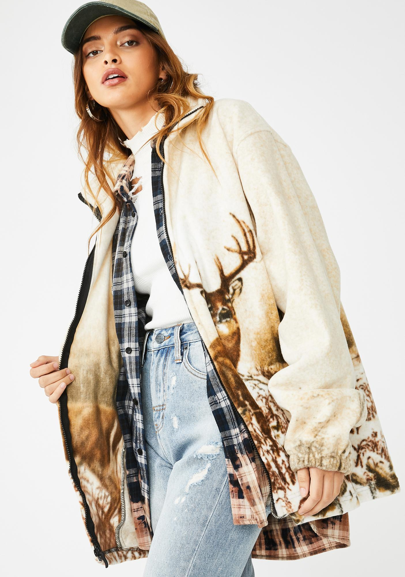 Wildkind No Bucks Given Fleece Jacket