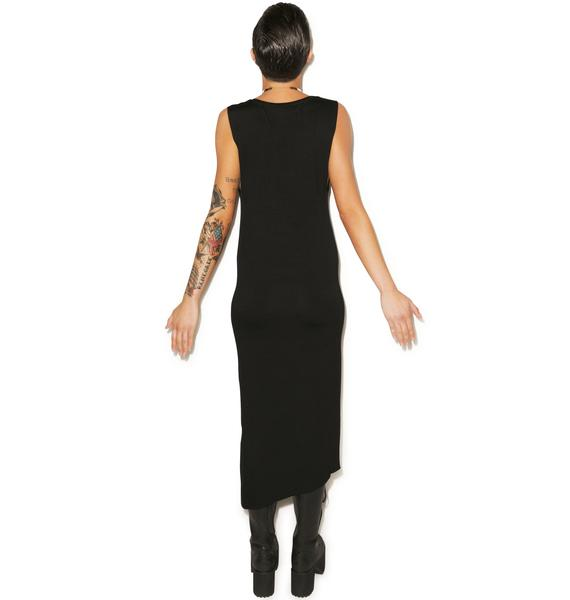 Killstar Serpent Maxi Dress