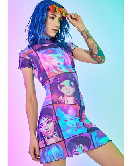 E-Girl Ego Mini Dress