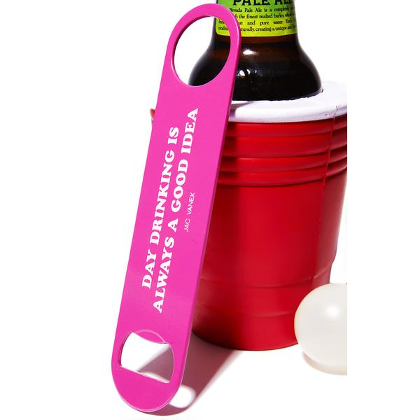 Jac Vanek Day Drinking Bottle Opener