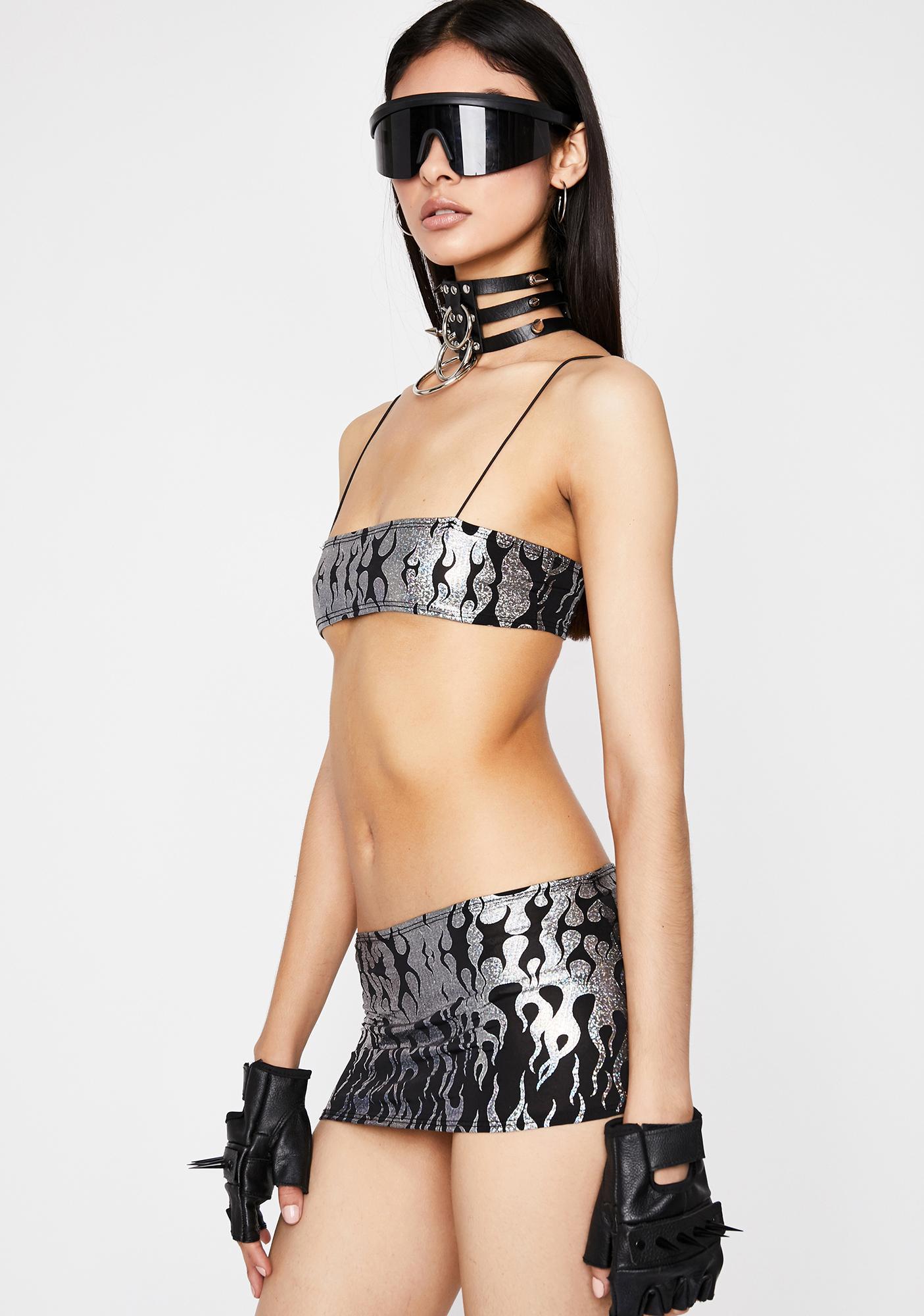 Metal Hellrazor Skirt Set