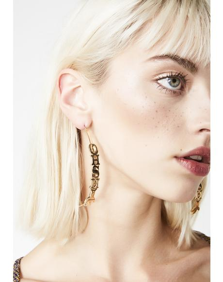 Exxplicit AF Hoop Earrings