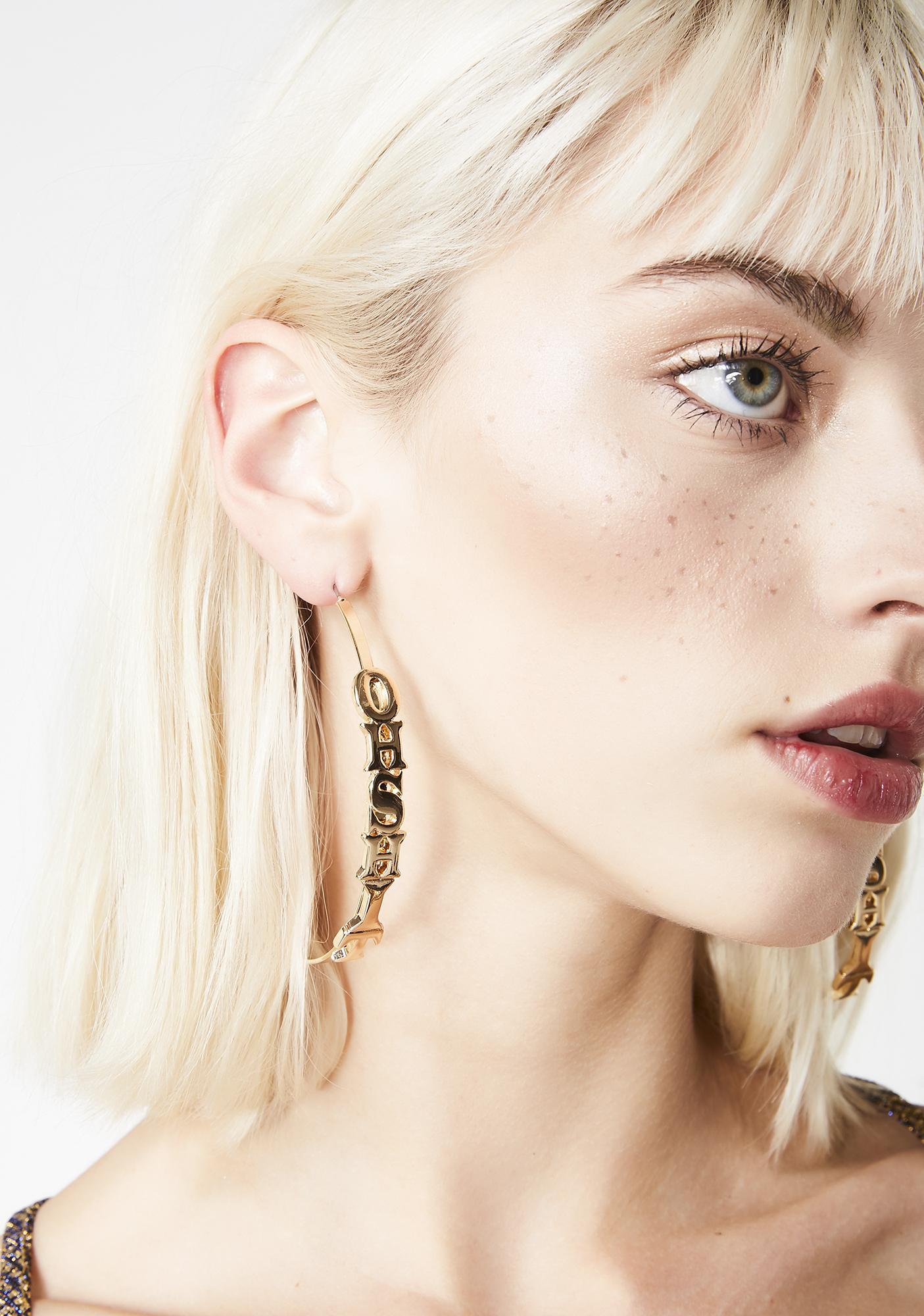 Exxplicit AF Hoop Earrings
