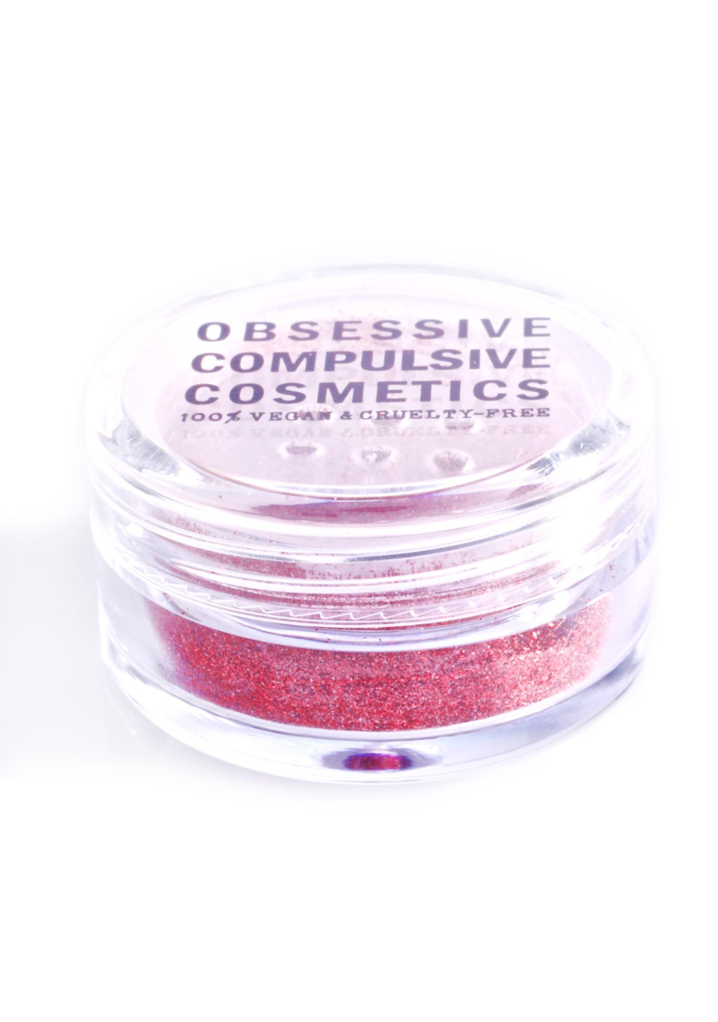 Obsessive Compulsive Cosmetics Red Cosmetic Glitter