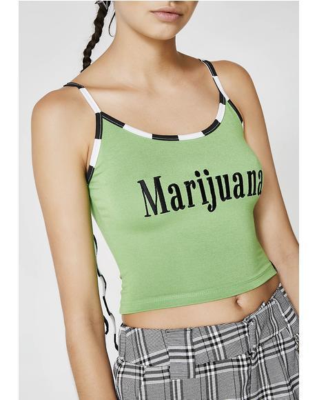 Marijuana Tank Top