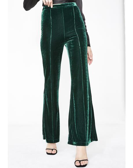 Luxxurious Lady Velvet Pants