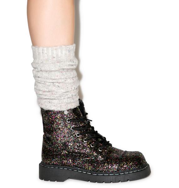 T.U.K. Glitter 7 Eye Boot