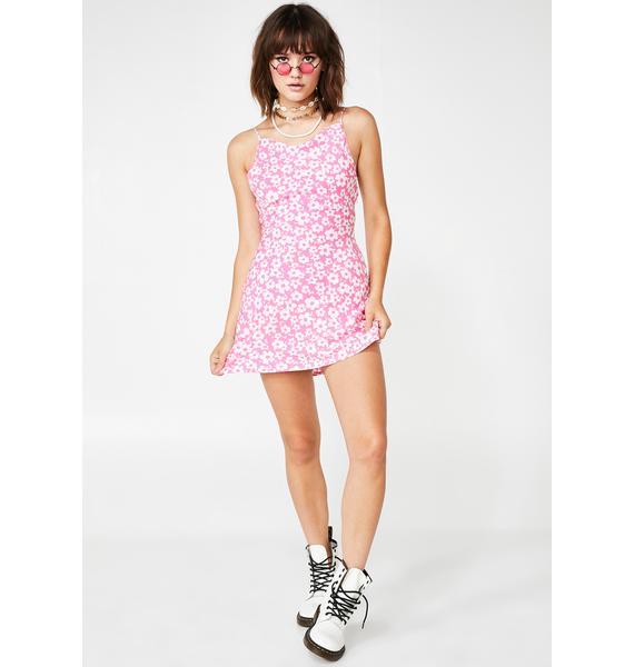Apple Blossom Mini Dress