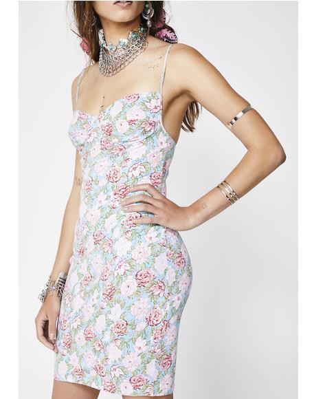 Bloom Floral Alvina Dress