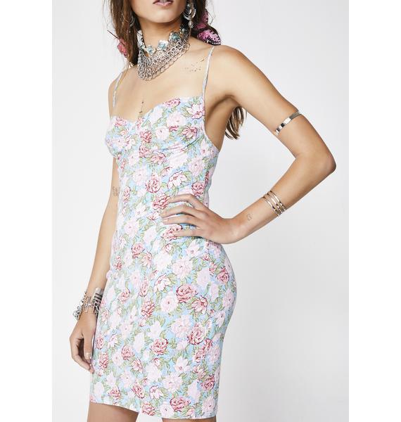 Motel Bloom Floral Alvina Dress