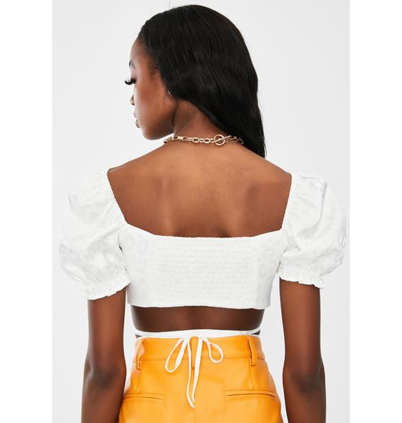 STEELE Mason Wrap Crop Top