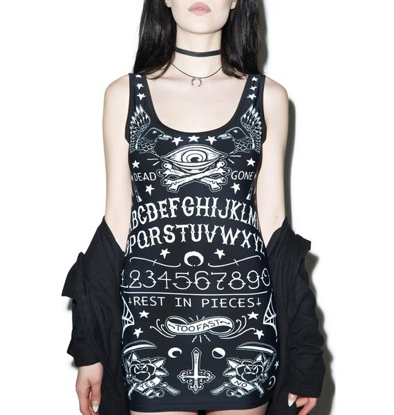 Too Fast Rest In Pieces Bettie Dress