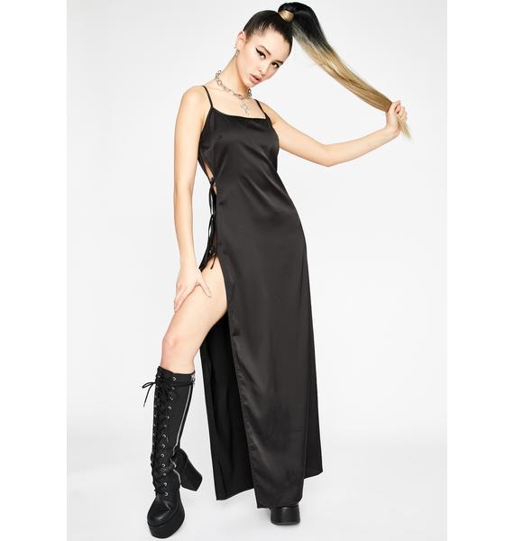 Dark Club Twilight Maxi Dress
