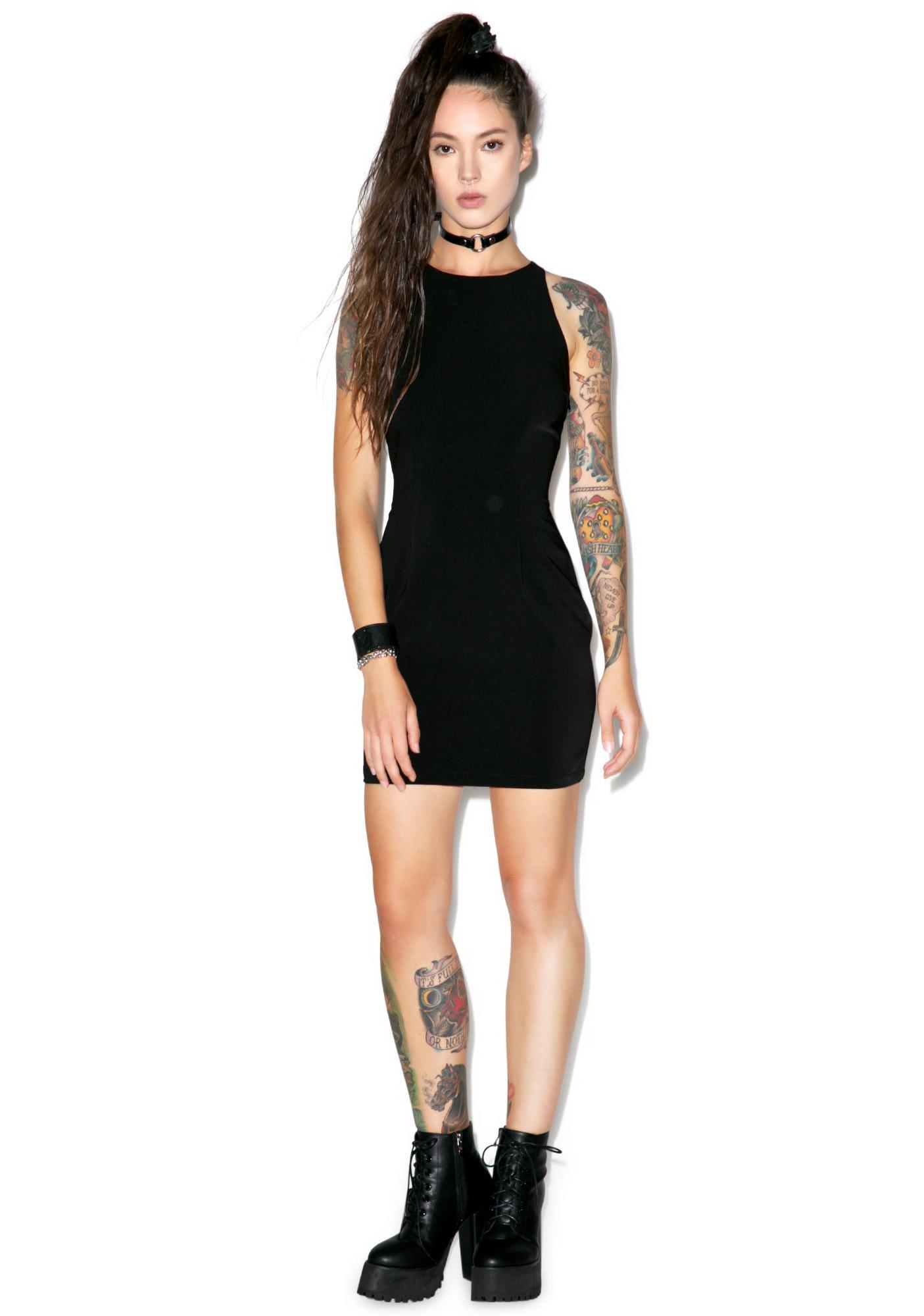 Stylestalker Double Cross Strap Dress