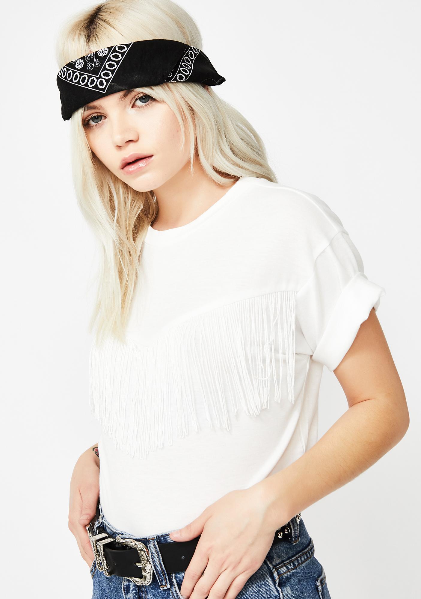 Iced Wildin' West Fringe T-Shirt