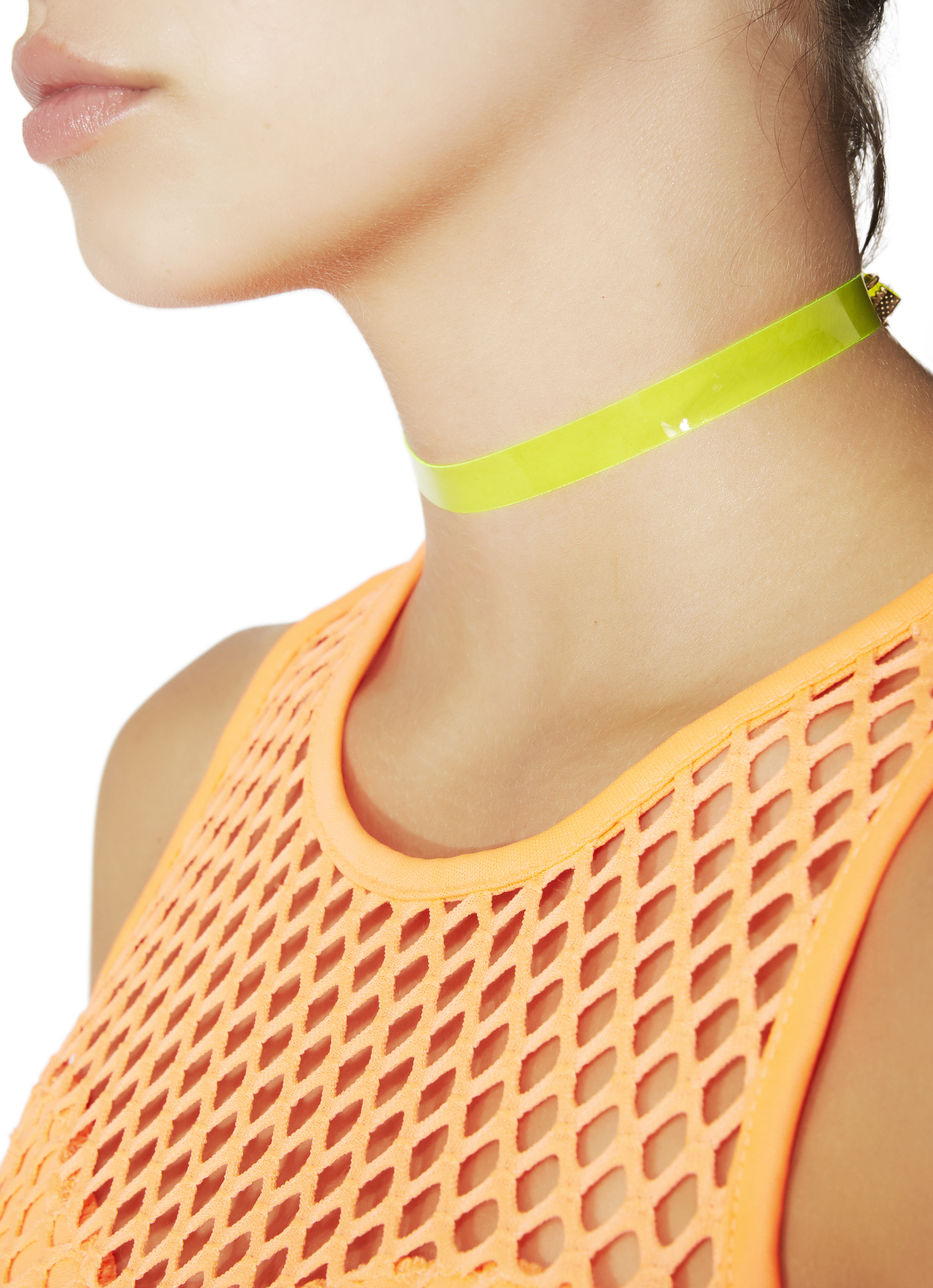 Yellow Vinyl Choker