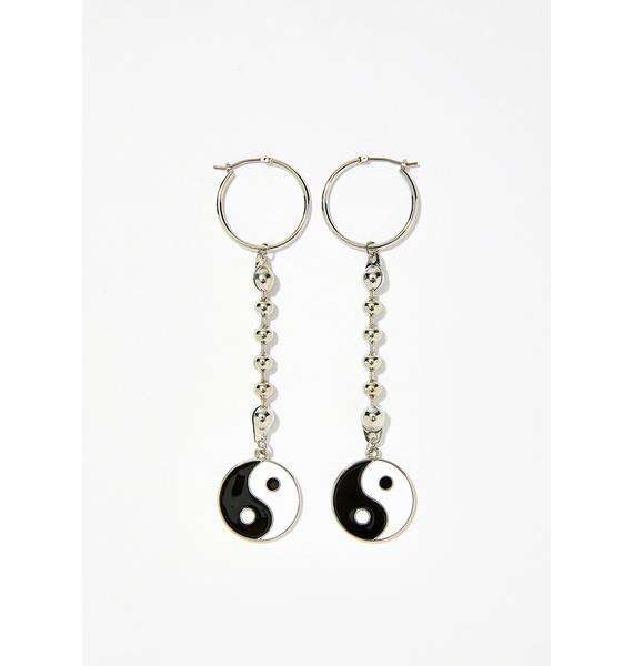 Dynamic Forces Ball Chain Earrings