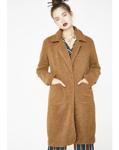 Bae Necessity Fuzzy Coat