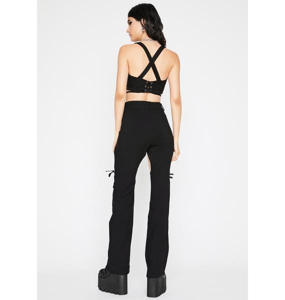 Giddy Up N' Go Lace Up Pants