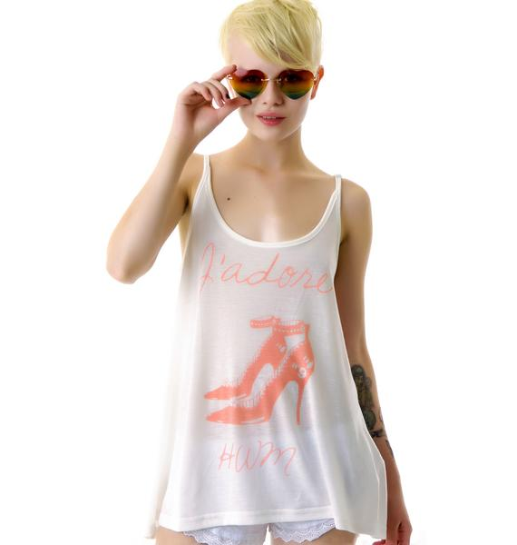 Hollywood Made Miss High Heels Tank