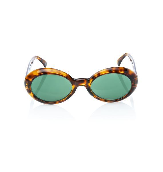 Shell Jackie Sunglasses