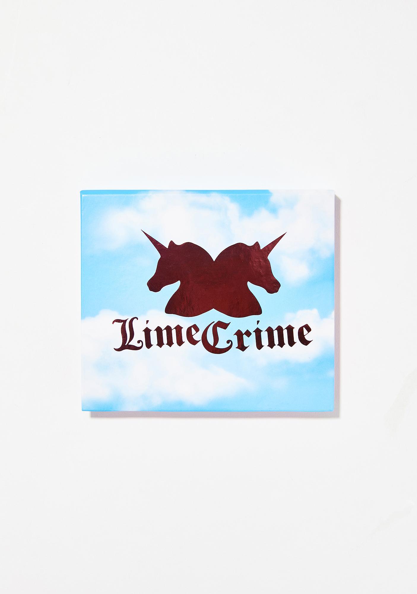Lime Crime Birthday Eyeshadow Palette