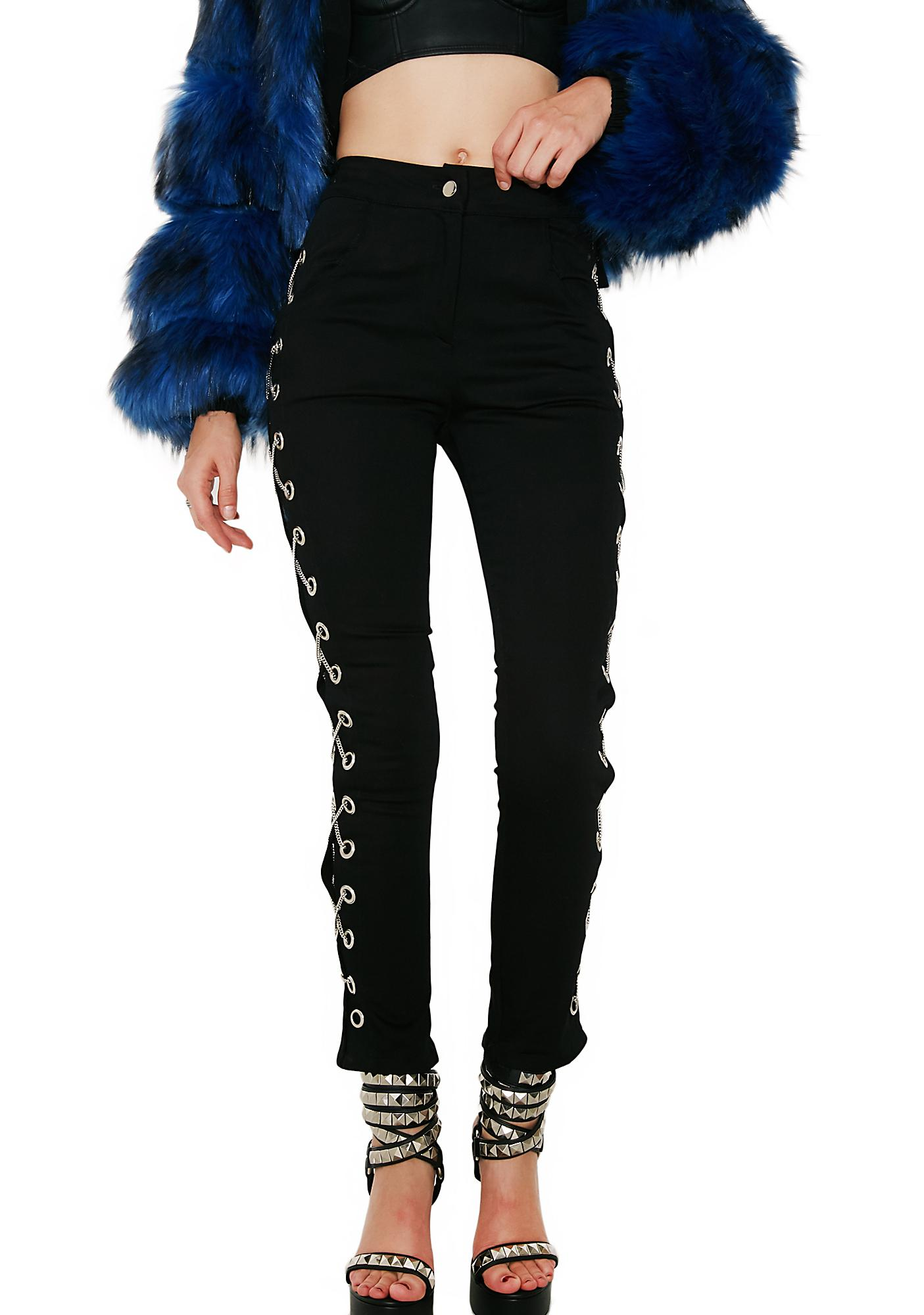 Hardware LDN Social Distortion Chained Trousers