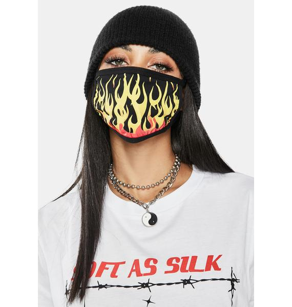 Dolls Kill Hell And Back Face Mask
