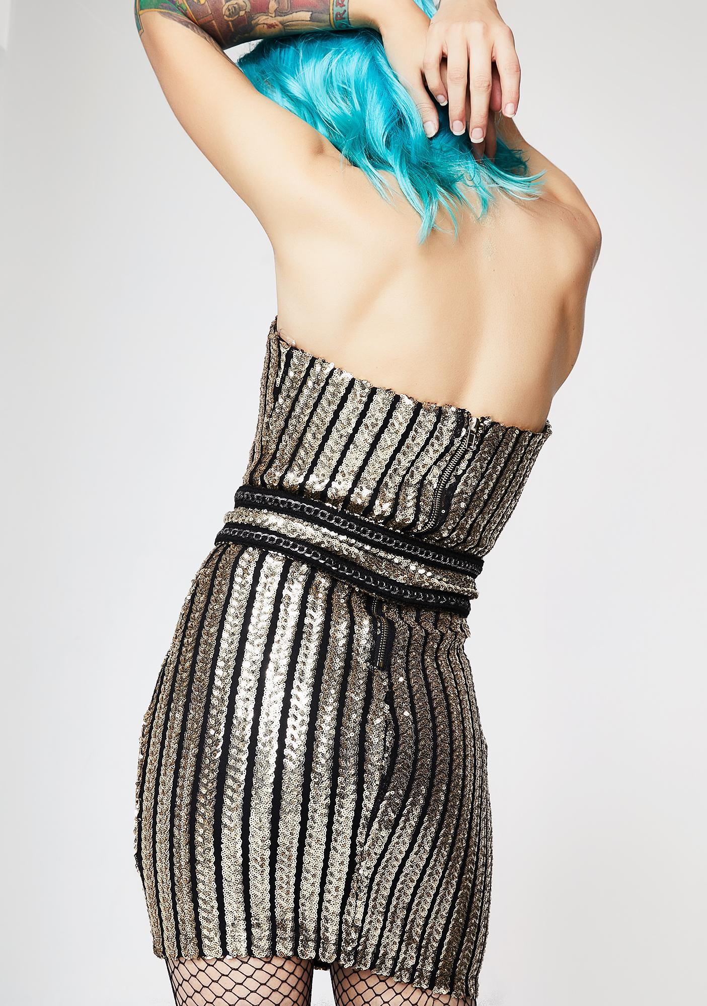 Party Queen Strapless Dress
