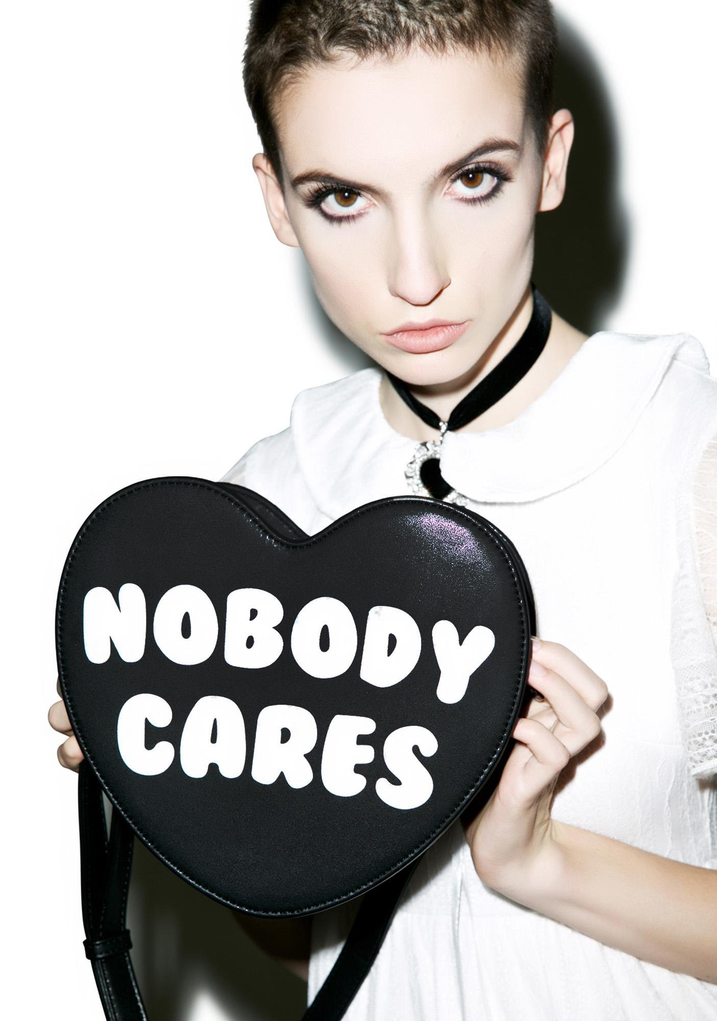 Killstar Nobody Cares Handbag