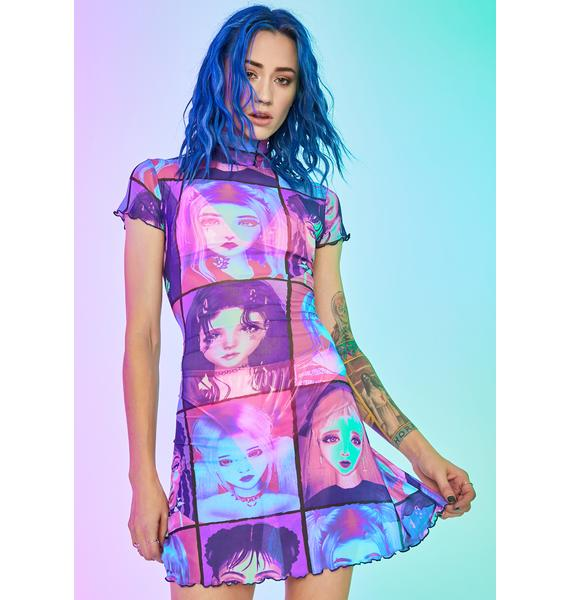 Current Mood E-Girl Ego Mini Dress