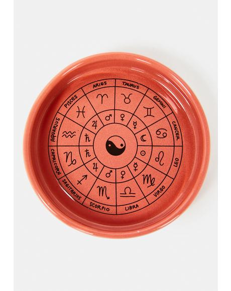 Zodiac Wheel Trinket Dish