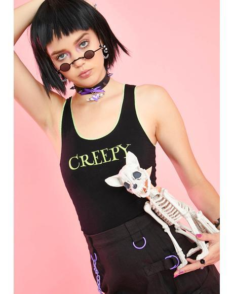 Bone-afide Creep Graphic Tank