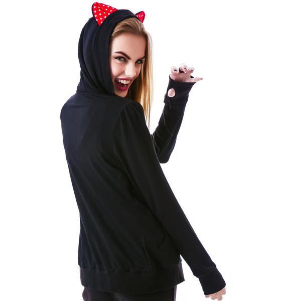 Sourpuss Clothing Kawaii Hoodie