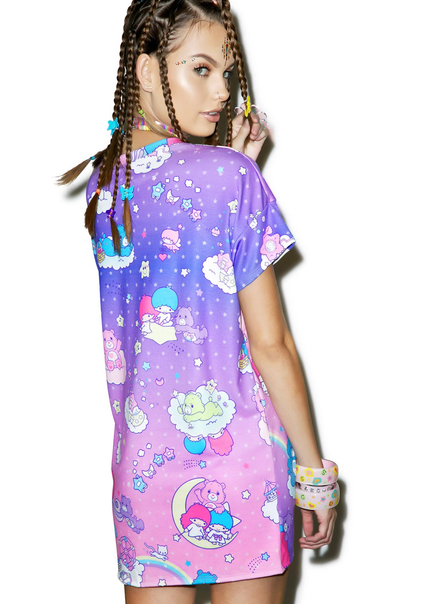Japan L.A. Little Stars X Care Bears Boxy Top