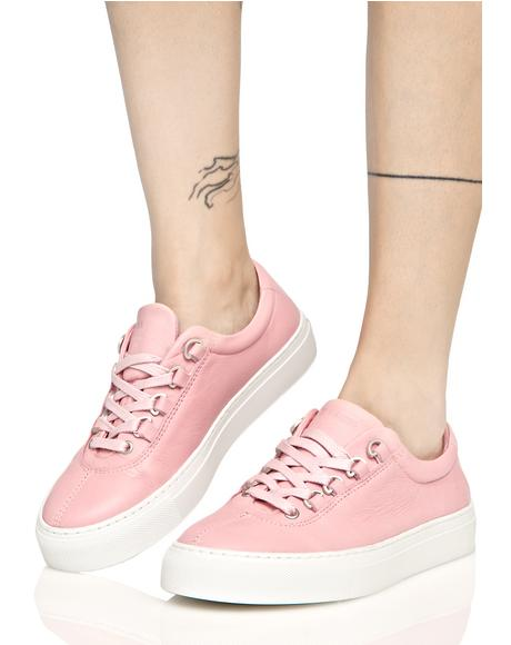 Pink Court Classico Sneakers