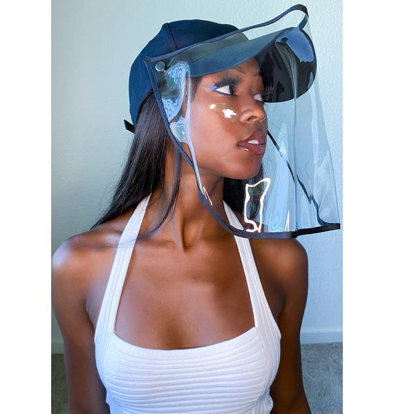 Gemelli Black Safety Shield Hat