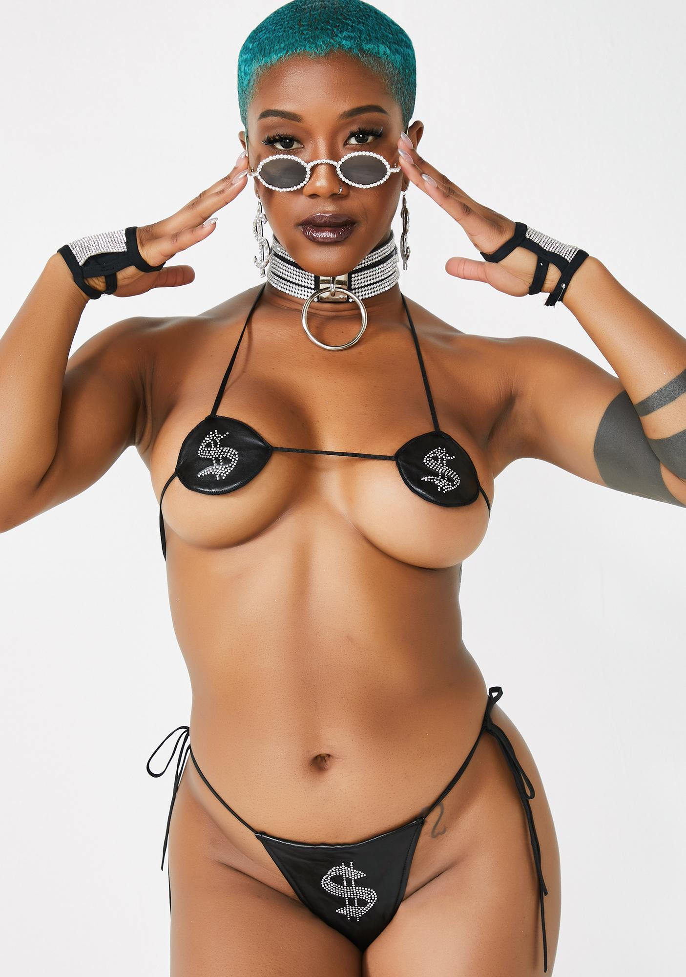Poster Grl Bare-ly There Lingerie Set