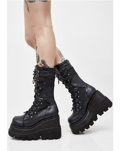 High Rise Shaker Boots