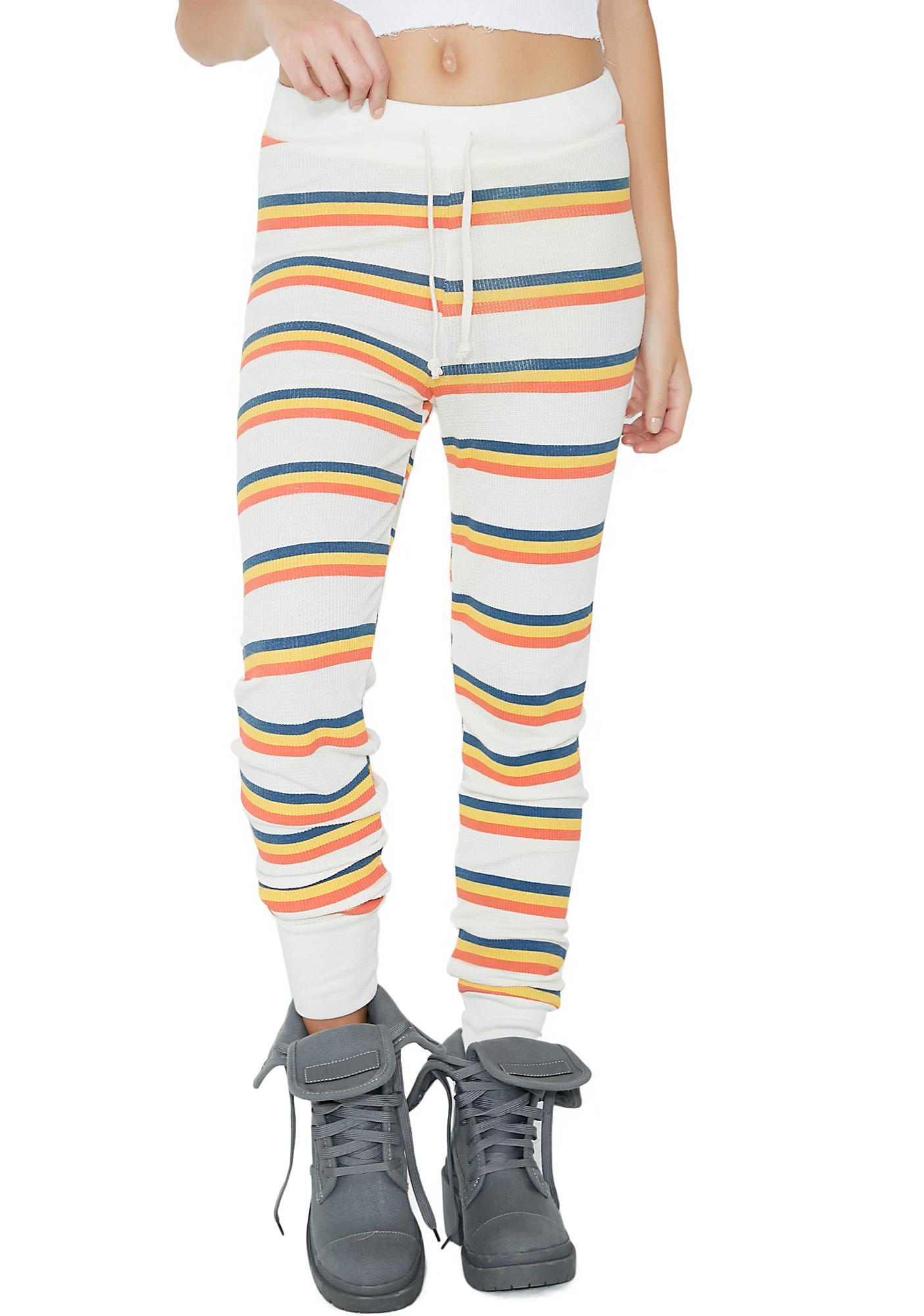 Wildfox Couture Cabin Stripe Jack Jogger