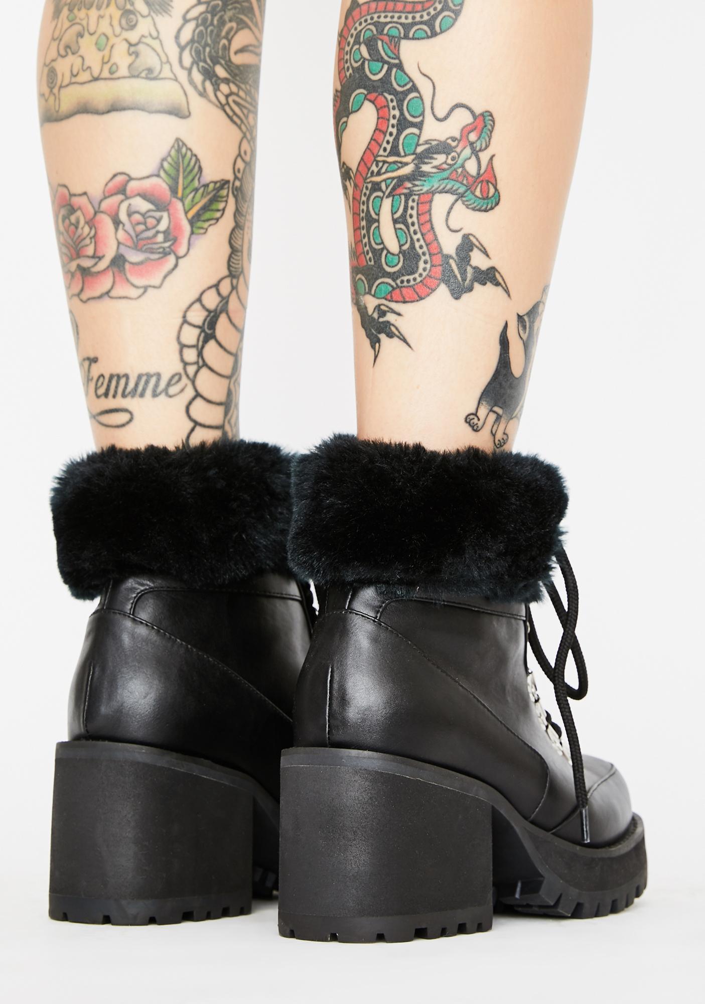 Club Exx Onyx Snow Blazin' Hiker Boots