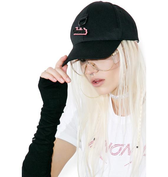 Venomiss NYC Glitter Charm Baseball Hat