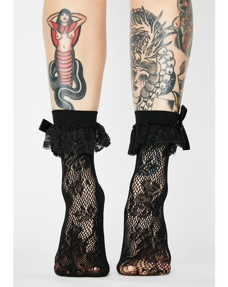 Mischief Lace Socks